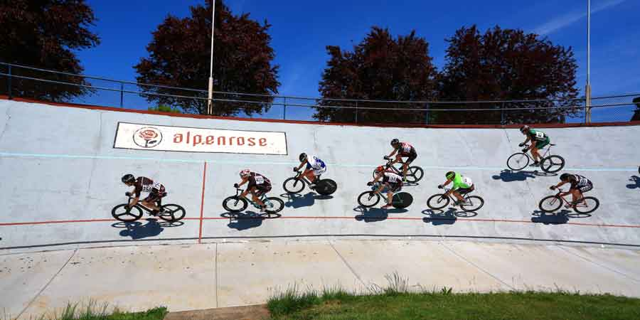 The Alpenrose Velodrome Challenge draws elite racers from around the world to one of twenty USA velodromes in the heart of Portland, Oregon