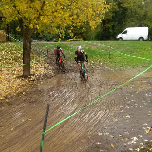 Canby's CX course, voted #1 Cyclocross course by numerous participants